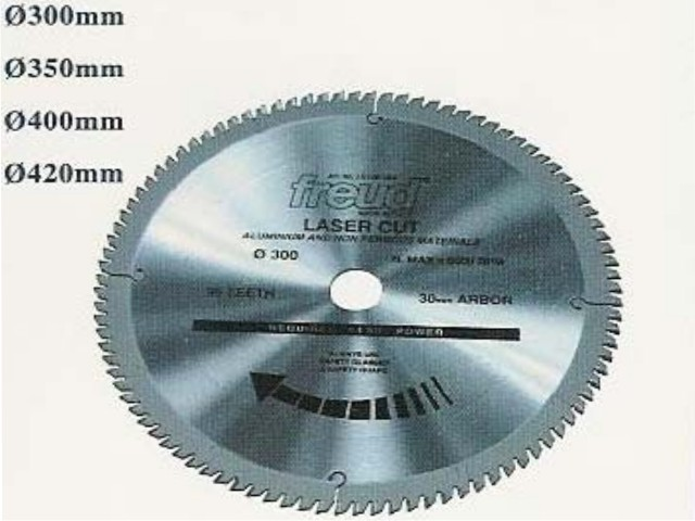 Saw Blades diameter 400 mm